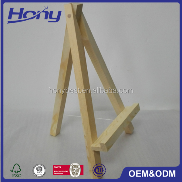 Floor Standing Wooden Advertising Display Stand,Table Poster Stand Holder