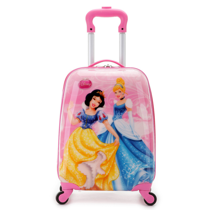 7d83462760 Buy 18 Inch Cartoon Children Luggage for Boys and Girls ABS Travel Bag for Child  Kids Rolling Case Schoolbags with Wheels Trip Bag in Cheap Price on ...