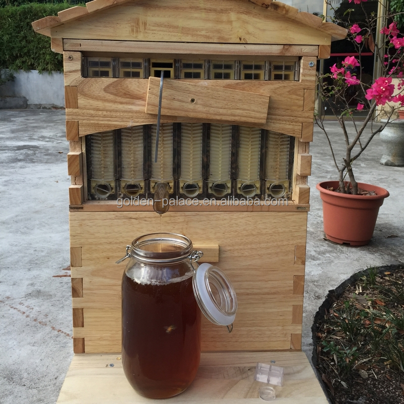 Chinese 7 frame flow bee hive for sales