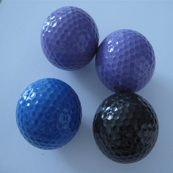 color driving range surlyn golf balls assorted colors for sale