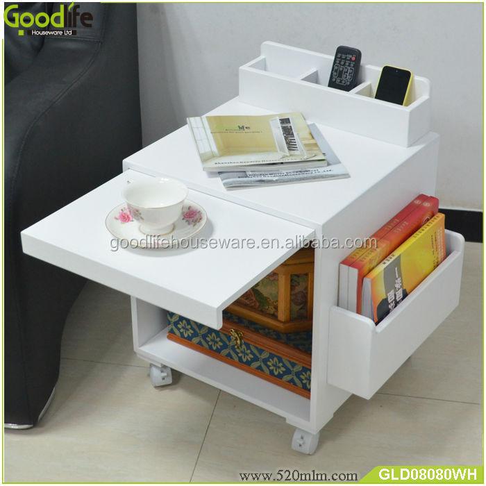 Lovely Goodlife Living Room Furniture Wooden Corner Table Designs