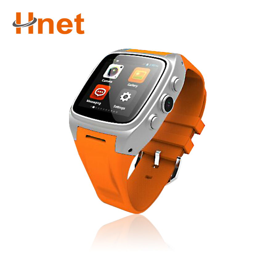 Support WiFi GPS Android 3G Watch Mobile Phone with Heart Rate Monitor