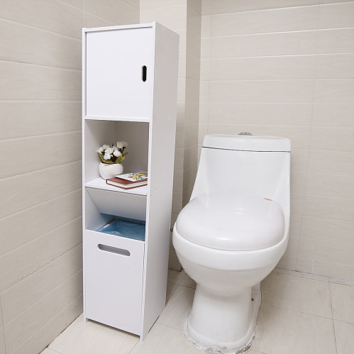 E0914 Modern toilet shelf storage shower room set home furniture cabinet wood bathroom pvc corner cabinet