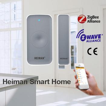 Smart Home Zigbee Ha12 Protocol Anti Theft Door Entry Sensor Alarm