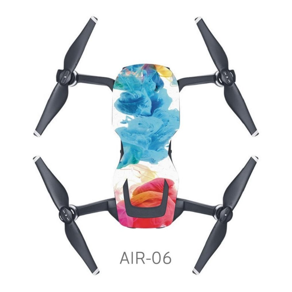 PVC Waterproof Sticker For DJI Mavic Air,PVC Waterproof Sticker Drone Body Shell Protection Skin Decals For DJI MAVIC AIR