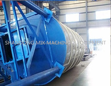 cement silo in concrete batching plant