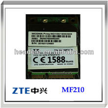 zte mf210 pci tarjeta de redinalámbrica wcdma módulo con chipset qualcomm android