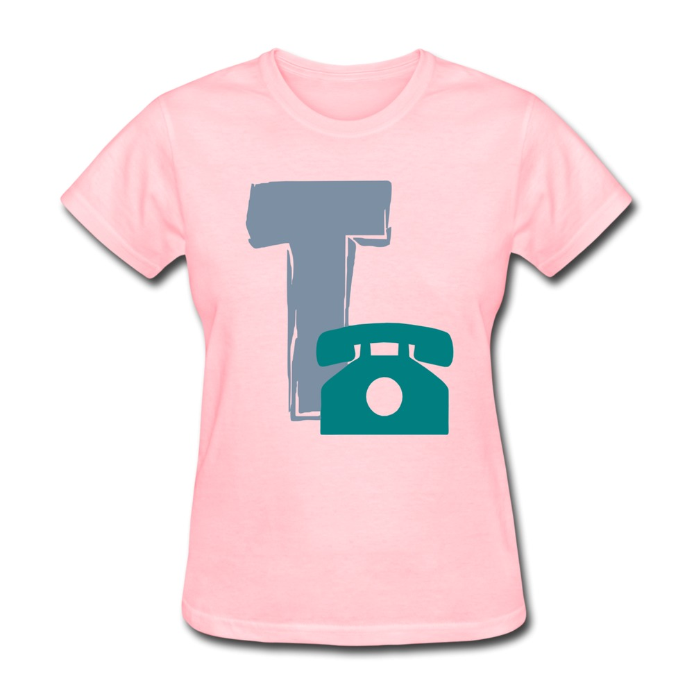 2015 Top Rated t telephone2 Pre-cotton Summer women's tshirt Cheap Sale