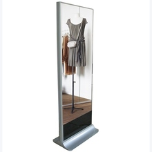 "42"" Indoor Free Standing Interactive LCD Advertising Magic Mirror Digital Signage"