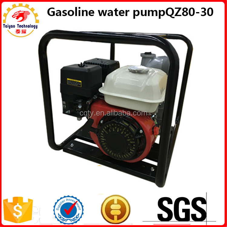 Agricultural irrigation gasoline 3 inch high pressure water pump
