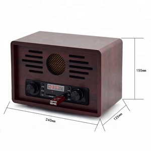 Hot sale vintage encodable fm radio receiver with usb sd recording