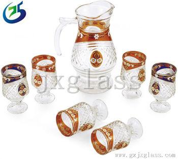 Glass Set Water Drinkware Tableware