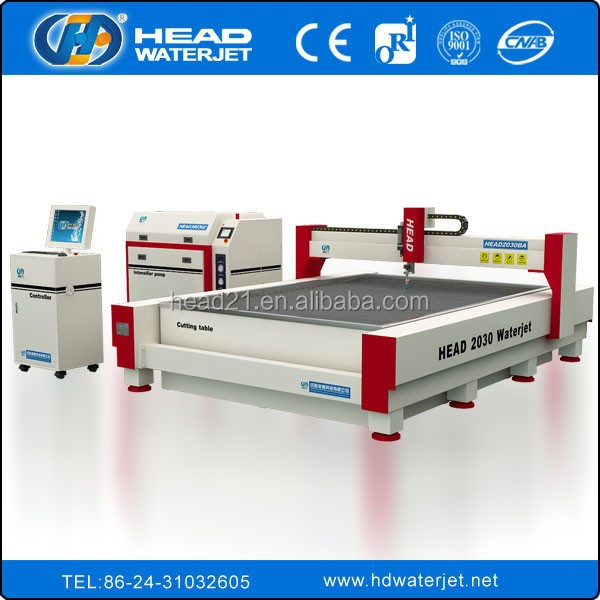 5 axis water jet cnc machine three axis waterjet cutting machine