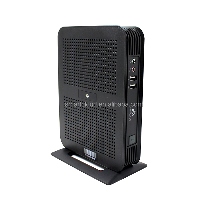 Wholesale Fanless Thin Client Support 2nd Ethernets 10/100/1000M with POE, thin client PC,cloud thin client computing