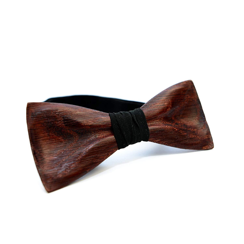 85c18a215 Get Quotations · Wooden Bow Tie OKTIE Classic Handmade Wood Bow Tie For Men  Wedding Bow Tie Oak Wood