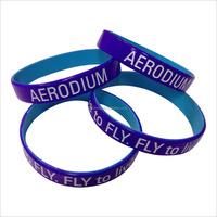 custom Reflective silicone bracelet Cheap plastics bracelet