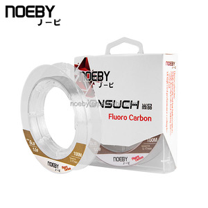 Hot Selling NOEBY Fishing Tackle 100m Fluorocarbon Line
