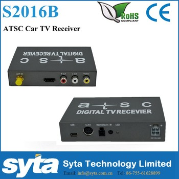 2016 Car Digital Tv ATSC Tuner for USA Mexico Canada Korea Market S2016B