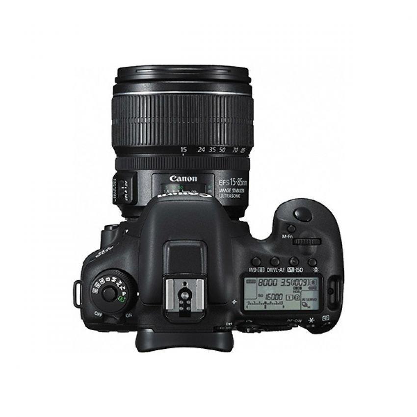 Canon Eos 7d Mark Ii Dslr Camera Body + Ef-s 15-85mm Is Usm Len ...