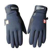 2016 New Waterproof Warm Windproof skiing Gloves Nylon Winter Sports Full Finger Gloves outdoor sport glove