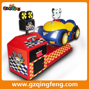 Qingfeng G&A exhibition discount indoor games for malls kiddie ride parts Total Drift kiddie ride
