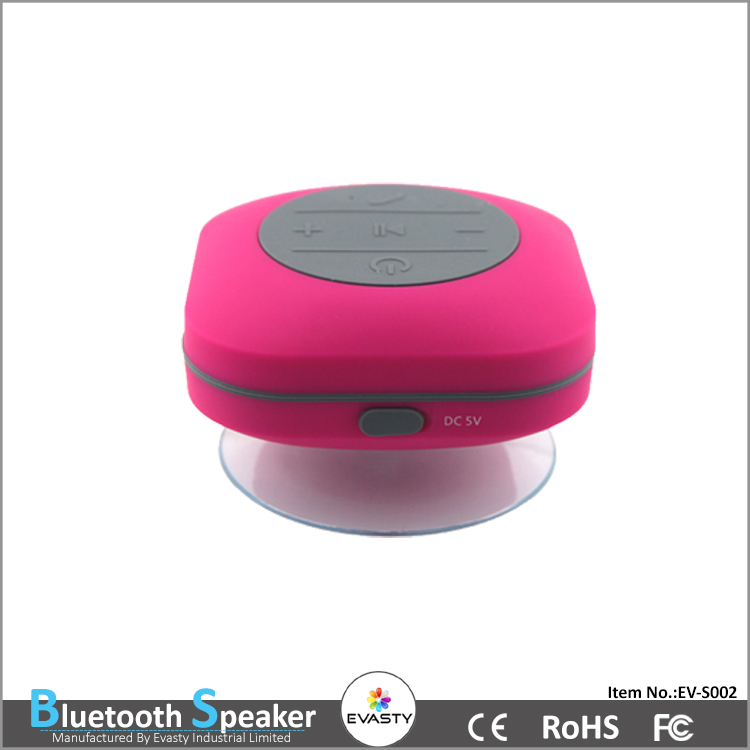 Shower Waterproof Wireless 4.0 Music Speaker with HD Sound and Bass Voice