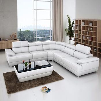 Accept Custom Size 150kg High Density Sponge Reclining Corner Sofa