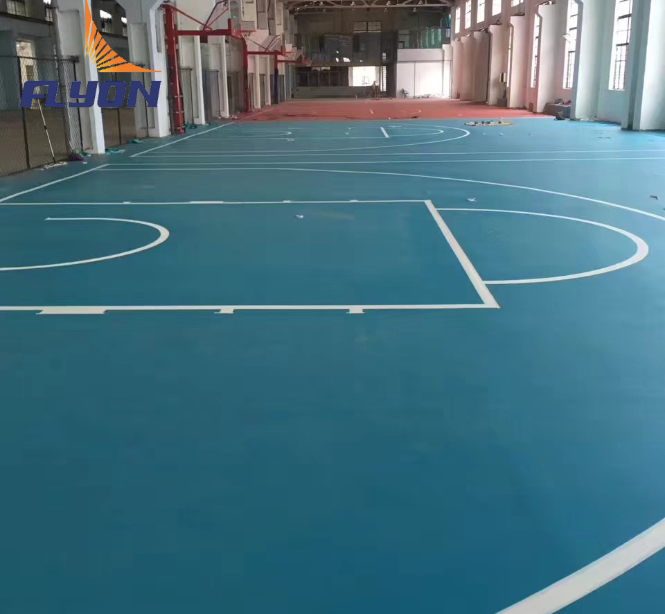 Vinyl Sports Pvc Pu Leather Floor For