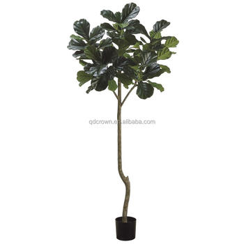 indoor decoration artificial fiddle leaf fig tree,wholesale