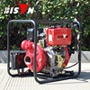 BISON China Taizhou BSDWP20 2 Inch Strong Diesel Engine Diesel Irrigation Water Pumps