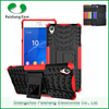 Quality guranteed hyun pattern TPU PC 2 in 1 hybird case for sony xperia z3 case