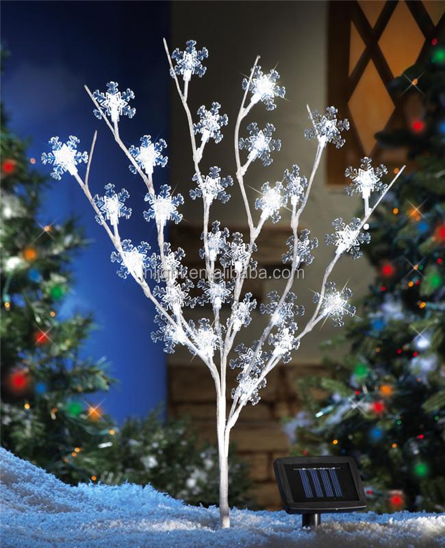 Led Solar Outdoor Christmas Tree Light,Solar Christmas Tree