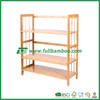 FB6-1007 large capacity bamboo wooden shoe rack