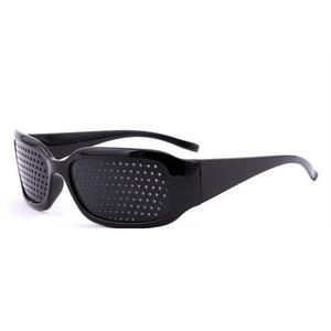 81d0a8b8fab2 Hot sale hole black pinhole micro-hole glasses anti-myopia fatigue glasses