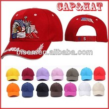 Hot Sell 5 or 6 Panel Promotional Baseball Cap with LOGO printing or Embroidered