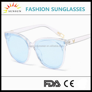 bulk sunglasses White Lucency zonnebril ultem pc sunglasses 2017