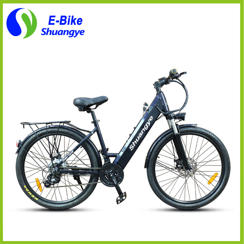26 inch electronic bike bicycle with pedals in Guangdong