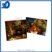 High quality birthday cake 3d greeting card