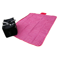 Tote Outdoor Picnic Floor Grass Camping Sleeping Picnic Mat For 3 Person