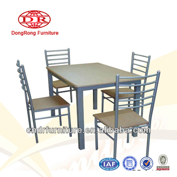 Square Tube Dining Table Set - Buy Dining Table Set,Russian Table ...