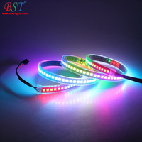 LED Digital Strip Full Color 5m 144 Pixel/m 2812B 2811 2813 RGB Led Strip lights,Addressable Built-in SMD 5050 Chip