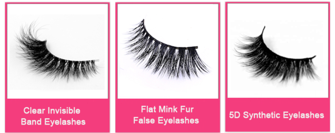 Top quality OEM private label Natural looking 3D real  mink fur  false eyelashes camellia lashes cils