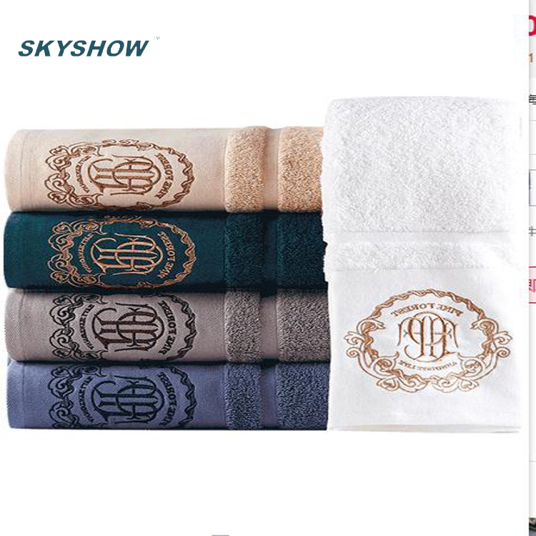 China Supplier High Quality Softness Luxury hotel 100 cotton jacquard 100% Cotton Bath <strong>Towel</strong>