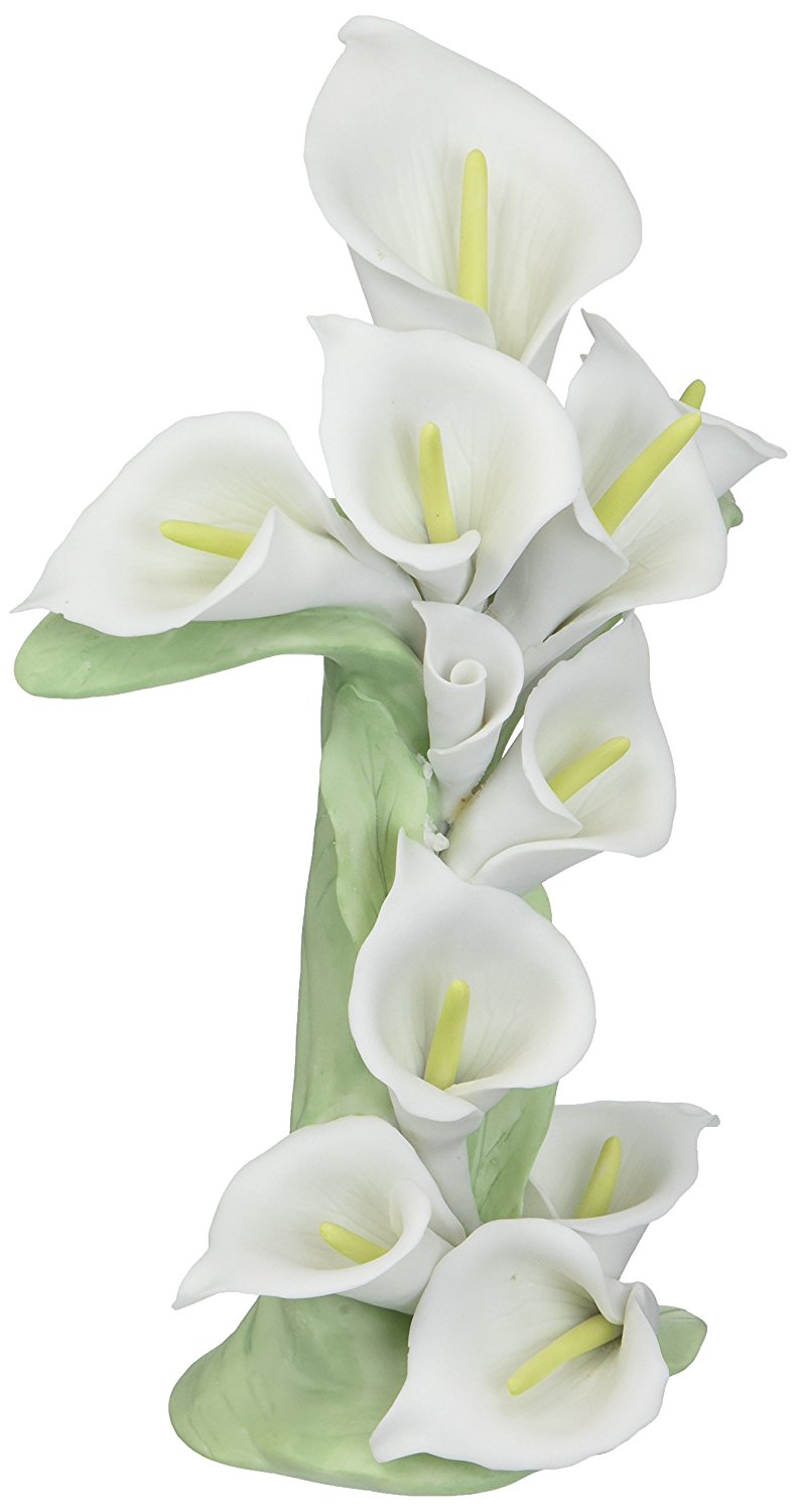Cheap flower white lily find flower white lily deals on line at atd 30601 85 cross shaped white calla lily flower statue izmirmasajfo