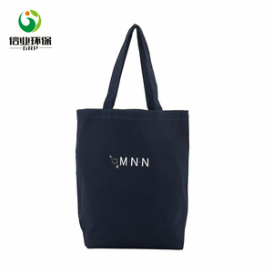 navy blue shopping china canvas wholesale blank tote bag