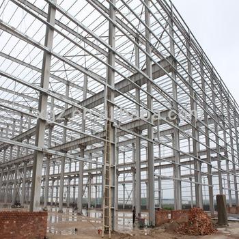 Big Span Light Steel Frame/prefab Steel Warehouse/prefab Steel ...