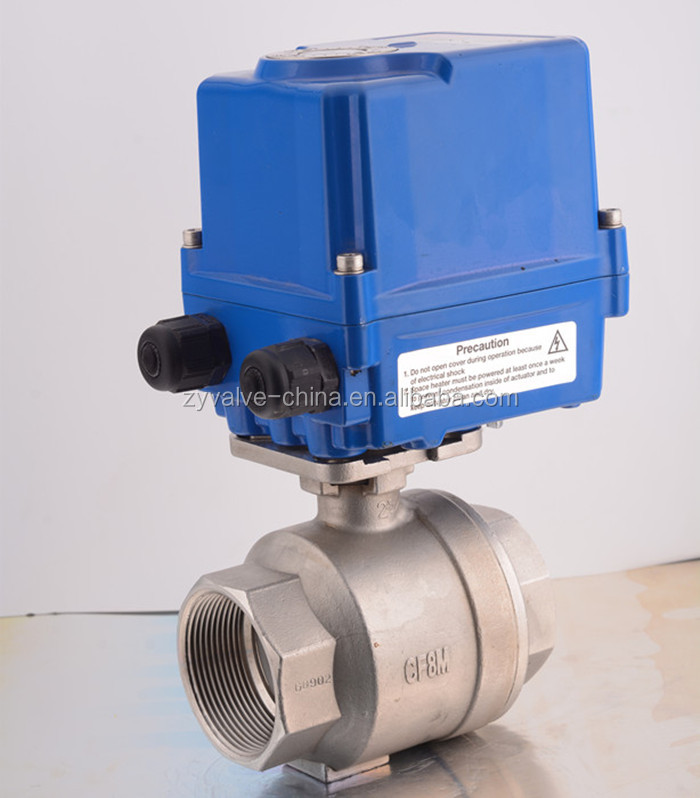 25mm Food Grade Pneumatic Actuator Ball Valve