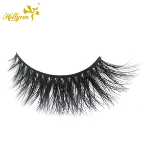 Soft Light Feeling 100% Real Mink Fur False Eyelashes Private Label Available