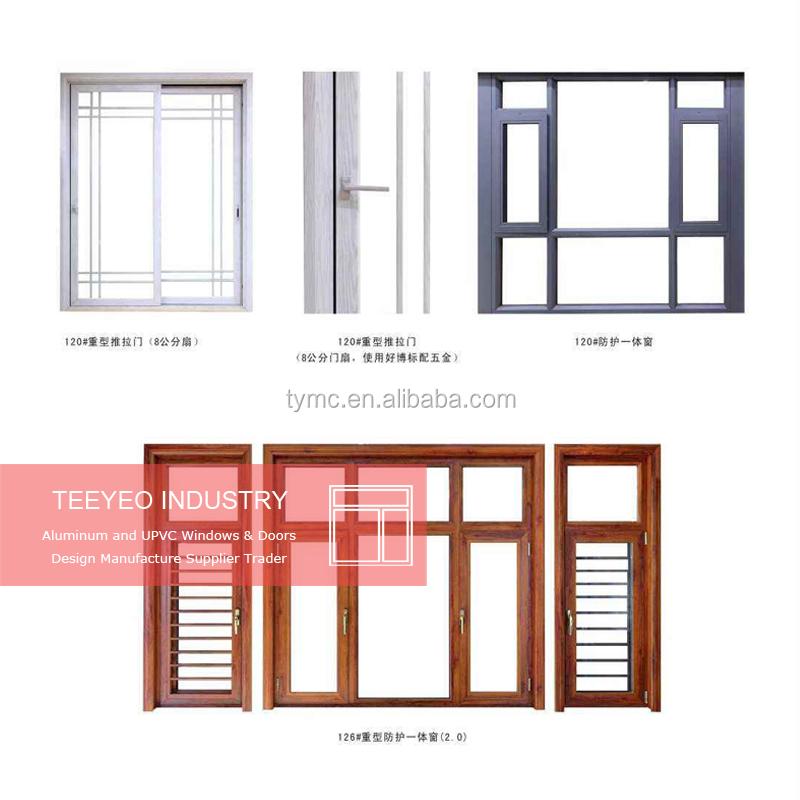 Aluminium Window Frame And Glass Design Sliding Type Wholesale ...