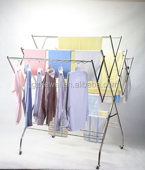 stainless steel clothes drying rack hanging clothes rack cloth dryer wf001 malaysia